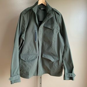 Under Armour storm jacket coat military green